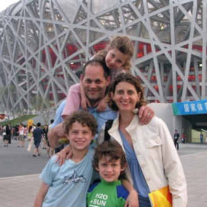 Alan Paul and his Family in China