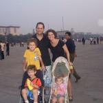family in tianamen