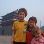 kids in tianamen