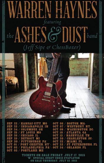 Warren Haynes Ashes And Dust : warren haynes announces tour dates with ashes and dust band alan paul ~ Hamham.info Haus und Dekorationen