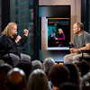 """""""Warren Haynes and moderator Alan Paul visit AOL Hq for Build on August 2, 2015 in New York. Photos by Gino DePinto, AOL"""""""